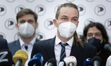 Předseda Pirátské strany Ivan Bartoš (ČTK)