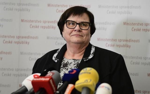 Ministryně spravedlnosti Marie Benešová (za ANO)  (ČTK)