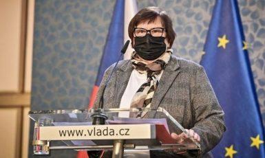 Ministryně Marie Benešová (za ANO) (ČTK)