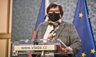 Ministryně Marie Benešová (za ANO) (FB Úřad vlády)