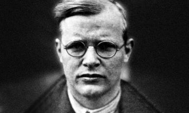 Evangelický duchovní a teolog Dietrich Bonhoeffer (ČTK/Sueddeutsche Zeitung Photo/Scherl)