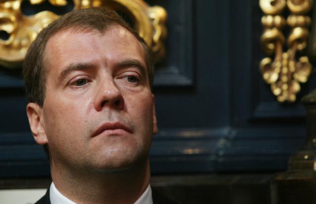 Bývalý ruský prezident Dmitrij Medvěděv (ČTK)