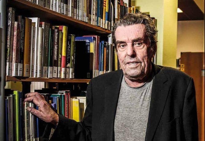 Český filosof Jan Sokol (1936-2021) (Pavel Hofman)