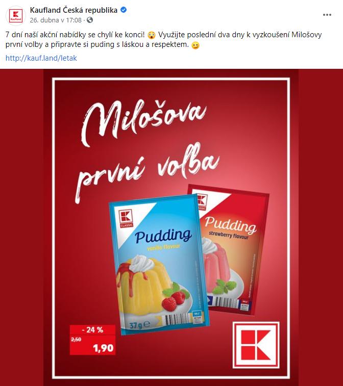 Facebook/Kaufland Česká republika