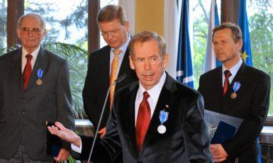 Projev bývalého prezidenta Václava Havla u příležitosti 10. výročí členství Česka v NATO (2009) (ČTK (Michal Doležal))