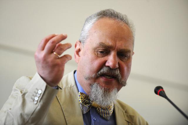 Andrej Zubov na Masarykově univerzitě v Brně (2014) (ČTK (Václav Šálek))