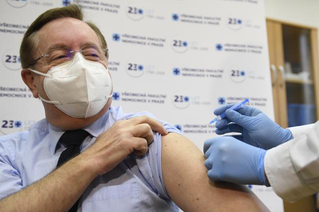 Nový ministr zdravotnictví Petr Arenberger (za ANO) (ČTK/Deml Ondřej)