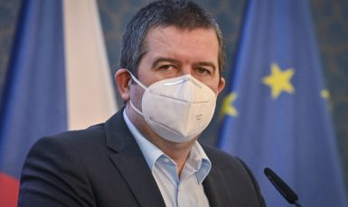 Ministr vnitra Jan Hamáček (ČSSD). (ČTK/Šimánek Vít)