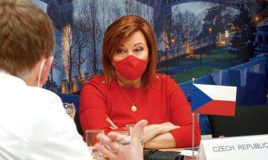 Ministryně financí Alena Schillerová (ANO) (FB Alena Schillerová)