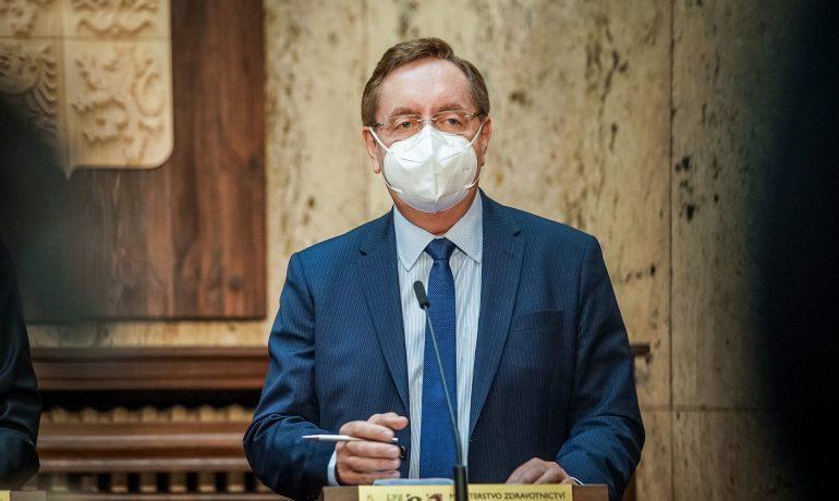 Ministr zdravotnictví Petr Arenberger (za ANO) (Úřad vlády ČR)