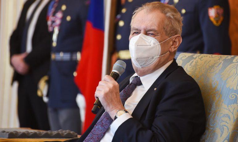 Prezident Miloš Zeman (FB Miloš Zeman)