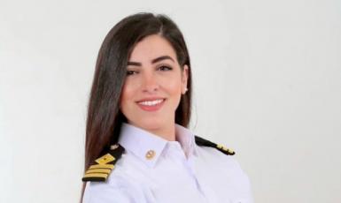 Kapitánka Marwa Elselehdar. (AASTMT)
