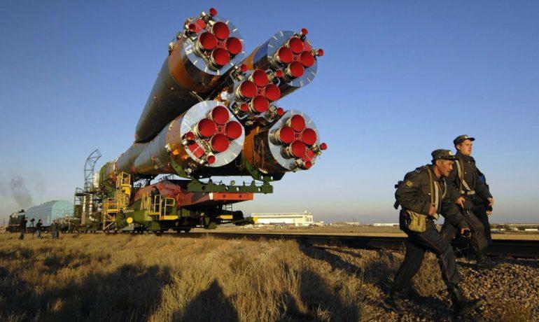 Nosná raketa Sojuz. (Pixabay/ID 12019)