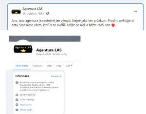 acebook.com/agenturaLAS/