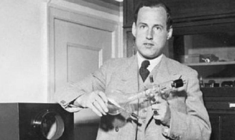 Německý vědec Manfred von Ardenne v roce 1933. (Commons.wikimedia.org/Allgemeiner Deutscher Nachrichtendienst - Zentralbild (Bild 183))