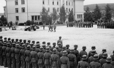 Němečtí vojáci v květnu 1939. Ilustrační foto. (creativecommons.org/licenses/by-sa/3.0/deed.en)