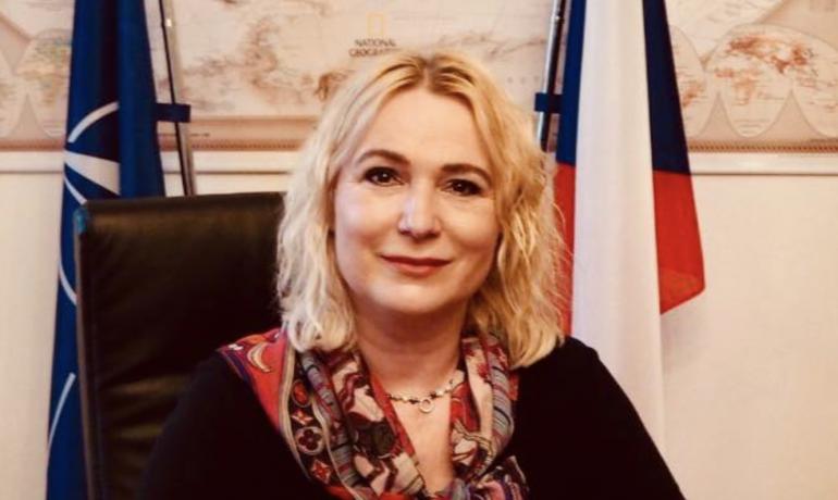 Jana Černochová, předsedkyně Výboru pro obranu Poslanecké sněmovny Parlamentu ČR (Úřad městské části Praha 2)