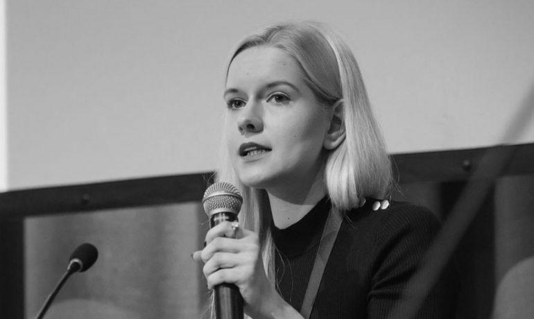 Analytička programu Kremlin Watch Veronika Víchová (Evropské hodnoty)