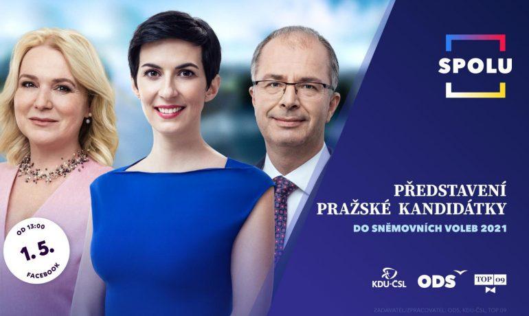 Představení pražské kandidátky koalice SPOLU (FB ODS)