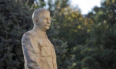 Socha sovětského diktátora Josifa Vissarionoviče Stalina (AdobeStock)