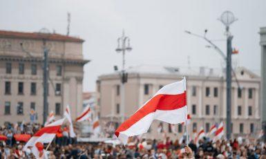 Protesty v Bělorusku, ilustrační foto (AdobeStock)