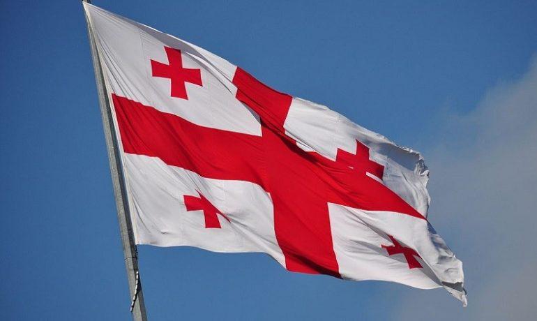Až žije svobodná a nezávislá Gruzie!  (Frank Miller (Wikimedia Commons))