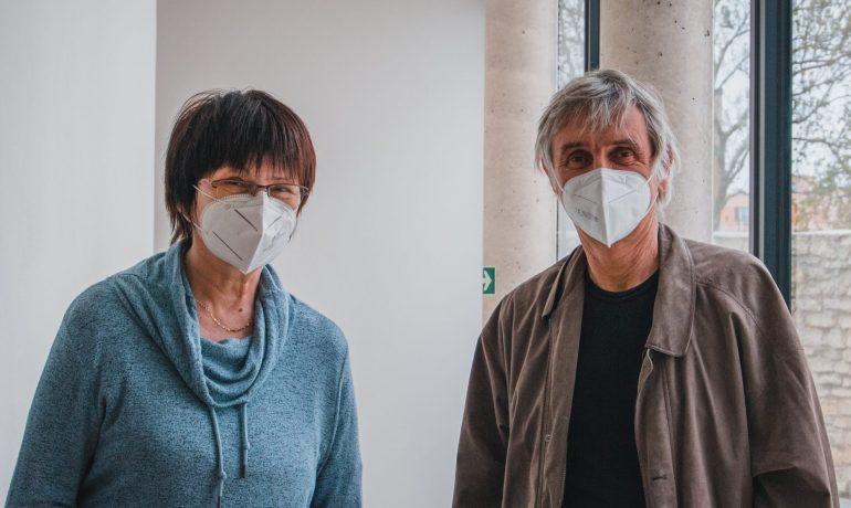 MUDr. Marie Blažková a ředitel hospice MUDr. Jiří Košťál (Tony Havlík/FORUM 24)