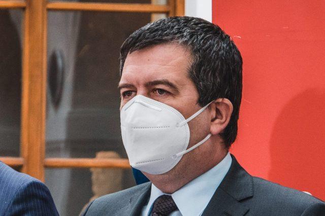 Ministr vnitra Jan Hamáček (ČSSD). (Tony Havlík/FORUM 24)
