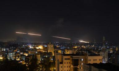 Útoky Palestinců na Izrael (ČTK/AP/Khalil Hamra)