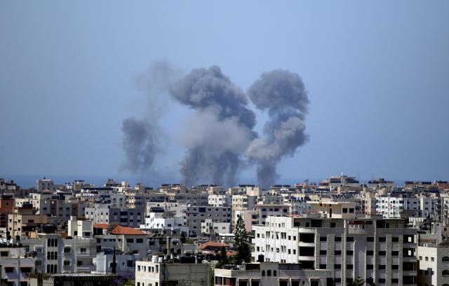 Násilnosti mezi Izraelem a Palestinou (ČTK/AP/Hatem Moussa)