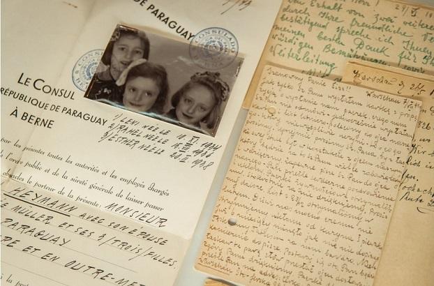 Dokumenty vytvořené tzv. Ładośovou skupinou ve Švýcarsku pro záchranu Židů (Instytut Pileckiego Warszawa)