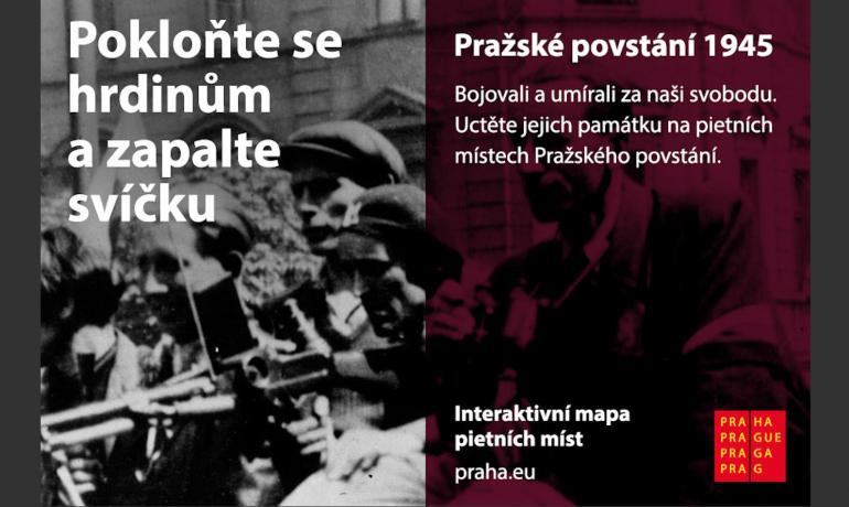 Praha si připomíná Pražské povstání (Magistrát Hlavního města Prahy)