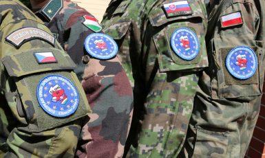 Vojáci společné bojové skupiny V4 utvořené v rámci EU (Ministerstvo obrany ČR)