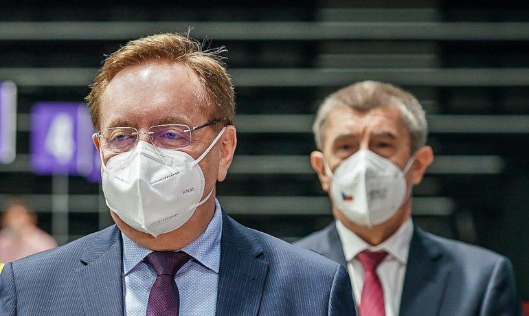 Ministr zdravotnictví Petr Arenberger (za ANO). (Úřad vlády)