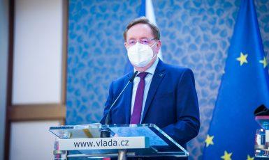 Ministr zdravotnictví Petr Arenberger (za ANO) (Úřad vlády)