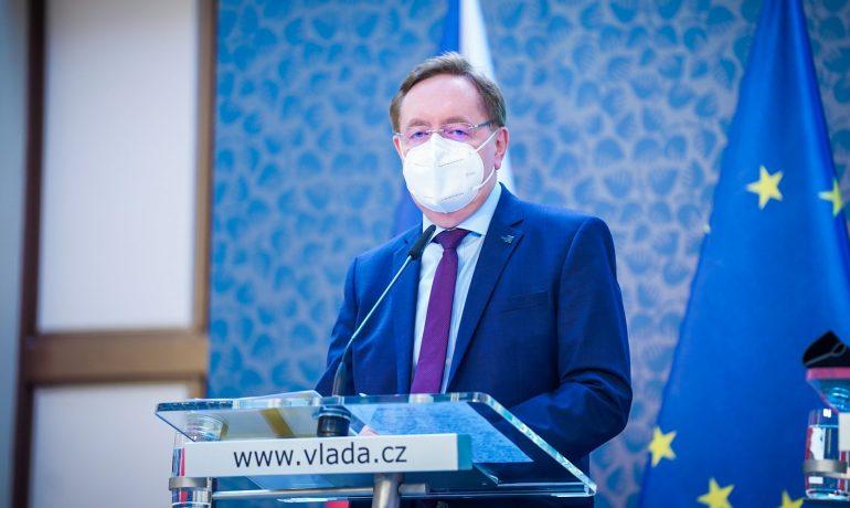 Bývalý ministr zdravotnictví Petr Arenberger (za ANO) (Úřad vlády)