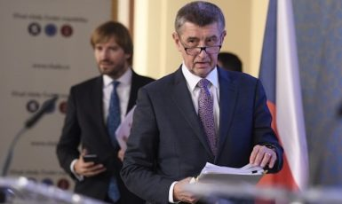 Adam Vojtěch a Andrej Babiš (ČTK)