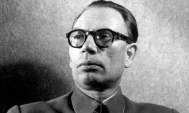 Generál Andrej Vlasov v roce 1942. (commons.wikimedia.org/Bundesarchiv, Bild 146-1984-101-29 / CC-BY-SA 3.0)