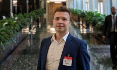 Roman Protasevič (Sviatlana Tsikhanouskaya/@Tsihanouskaya)