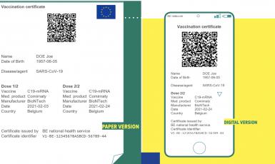 Covid pasy (Evropská unie)