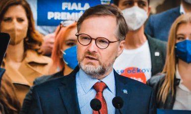 Předseda ODS Petr Fiala. (Koalice SPOLU / Se svolením autora)