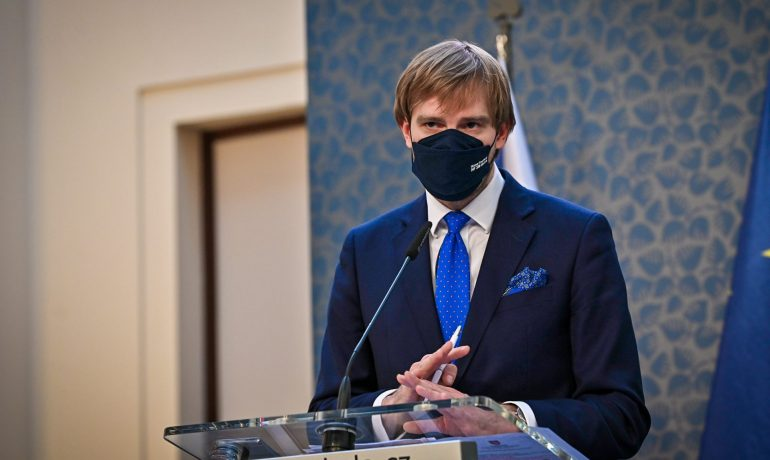 Ministr zdravotnictví Adam Vojtěch. (Vláda ČR)