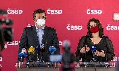 Jan Hamáček a Jana Maláčová (ČSSD)