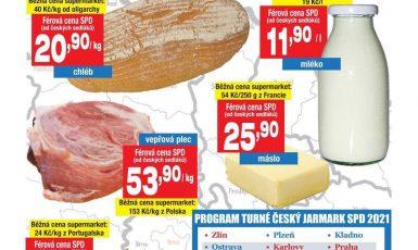 Populistické hnutí SPD bude prodávat podezřele levné potraviny. (spd.cz)