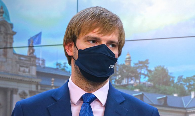 Ministr zdravotnictví Adam Vojtěch (za ANO) (Vláda ČR)