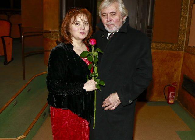 Herci Libuše Šafránková a Josef Abrhám. (ČTK)