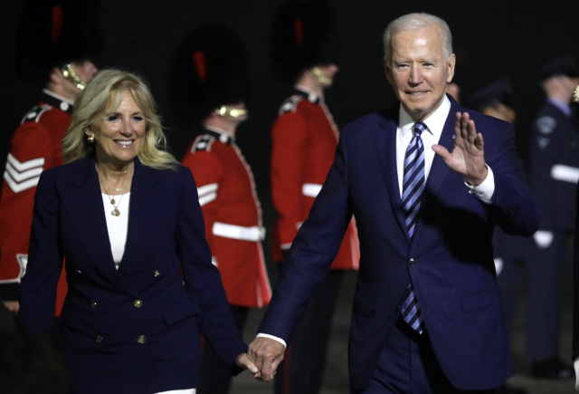 Joe Biden s manželkou  (Profimedia)