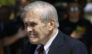 Donald Rumsfeld (ČTK/AP/Patrick Semansky)