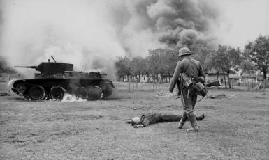 Německá motorizovaná jednotka, červen 1941 (Bundesarchiv_Bild_101I-186-0184-02A)