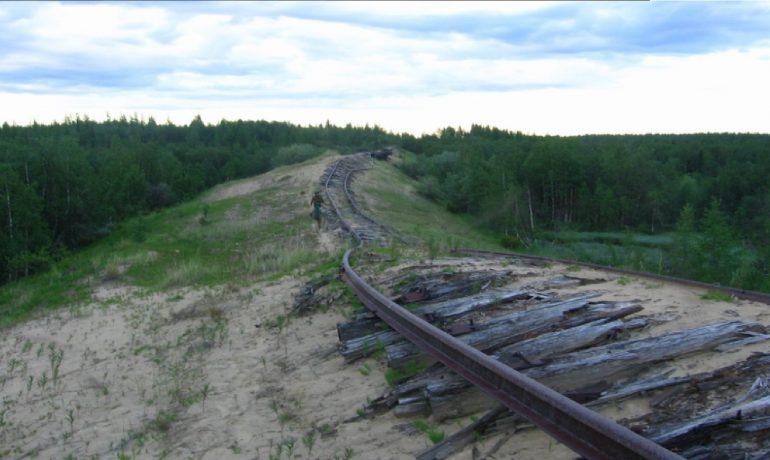 Transpolární železnice byla projektem systému Gulag, který probíhal v letech 1947 až 1953. (commons.wikimedia.org/GNU Free Documentation License)